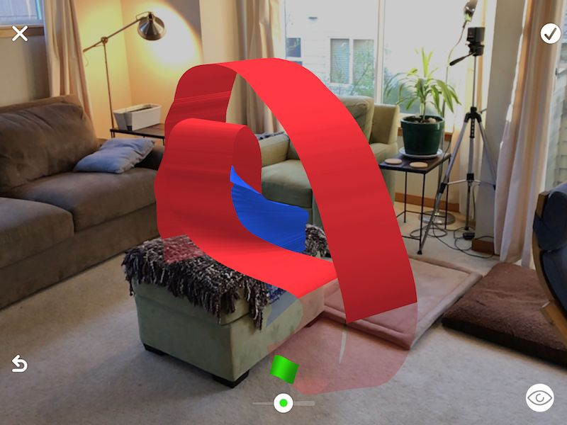 a version of the AFrame APainter demo in AR